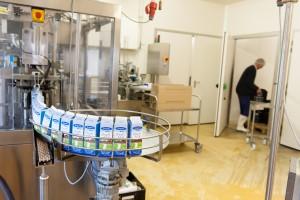 Bij productieproces melk